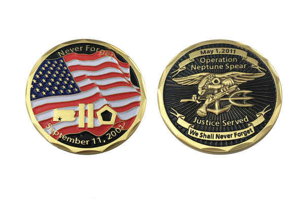 Neptune Challenge Coin - CountyComm