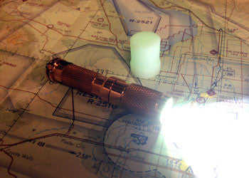 Copper AAA Flashlight by Maratac ™ REV 3