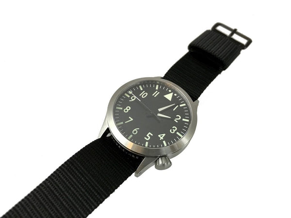 Mid Swiss Quartz Pilot Watch - Central Second by Maratac™