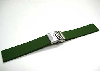Silicone Rubber Deployment Watch Bands by Maratac ™