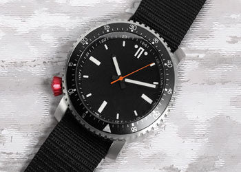 SR-1 Red Crown Watch by Maratac ™ - CountyComm