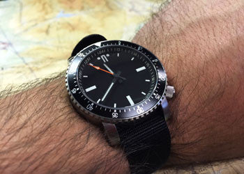 SR-3 Mid Diver Automatic Watch + Free Bracelet Combo - CountyComm