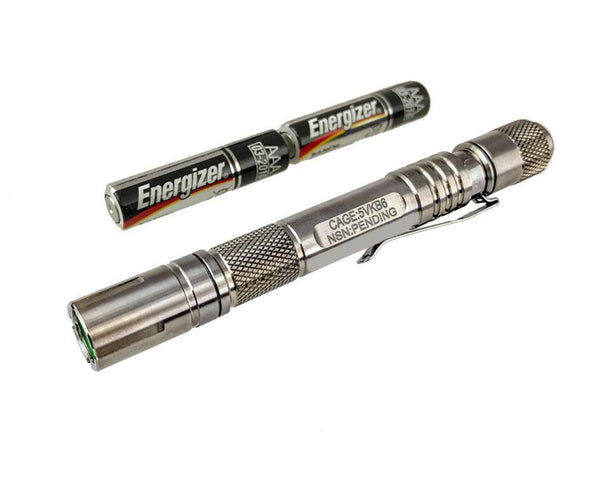 Titanium - Inspection : AAAx2 Extreme - Tactical Light by Maratac - CountyComm