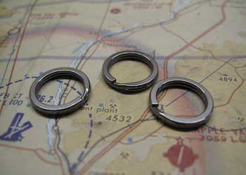 Ti Split Rings - CountyComm