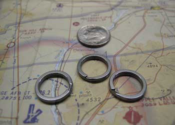 Ti Split Rings ~ - CountyComm