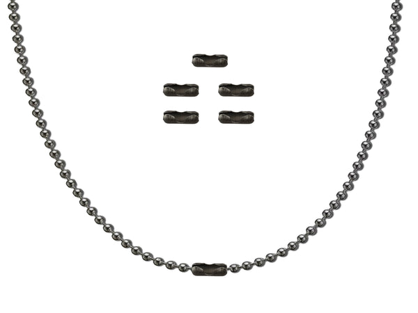 Titanium Ball Chain Kit + 5 Clasps - CountyComm