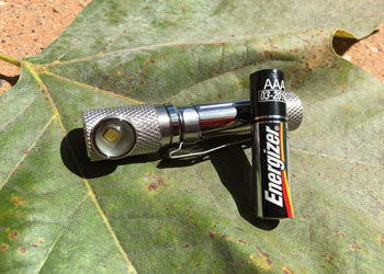 Stainless Tactical Personal Flood TPF AAA Light by Maratac - Rev 2 - CountyComm