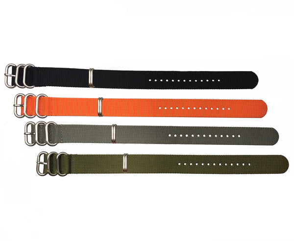 Zulu Four Buckle Watch Straps by Maratac ~ - CountyComm