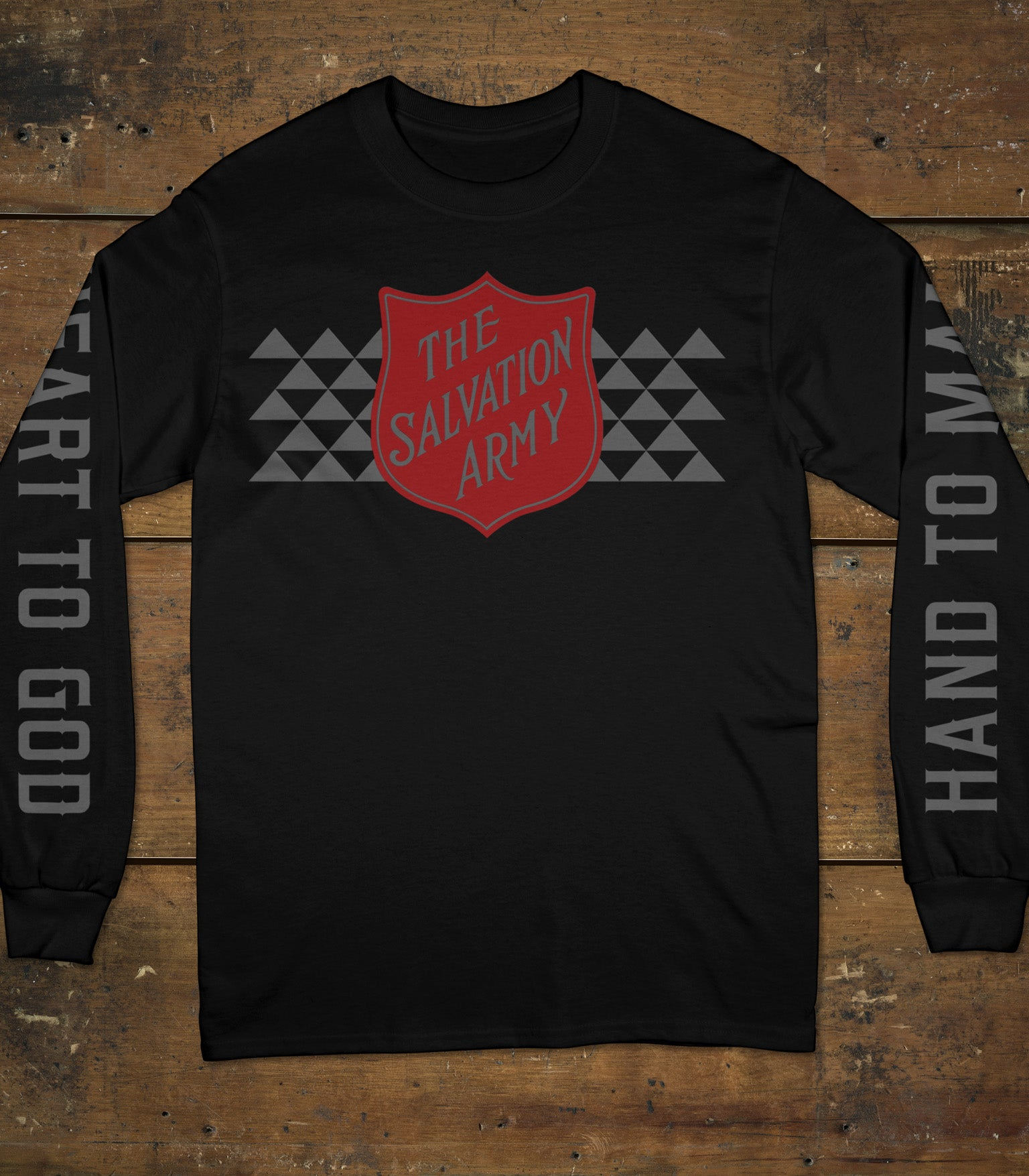 Street Team Reflective Long Sleeve Tee