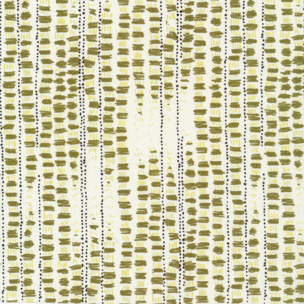 Tapestried - Green | Organic Cotton - 1/4m