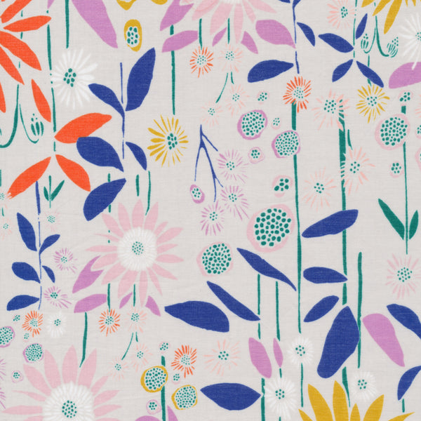 Aubade in Foggy Dew | Organic Cotton Batiste - 1/4m