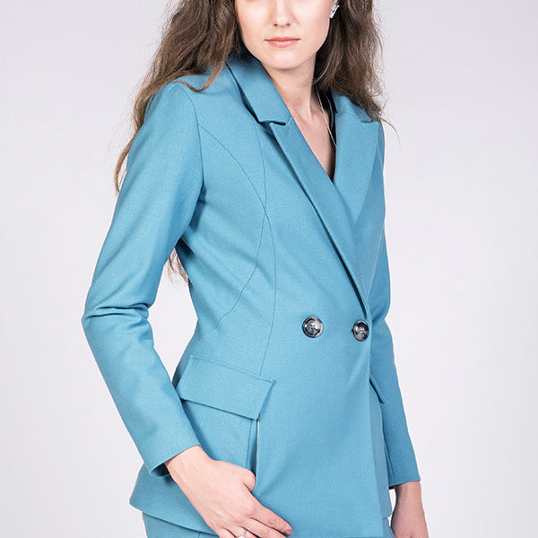 Aava Tailored Blazer sewing pattern | Named