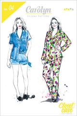 Carolyn Pajama Pattern (Print) | Closet Case Patterns