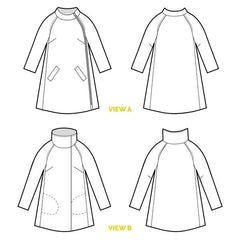 Clare Coat Pattern (Print) | Closet Case Patterns