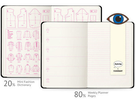 Fashionary | Yazbukey Ruled A5 Notebook