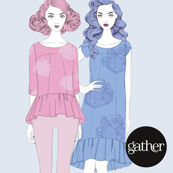 Azaire Dress (Paper) Sewing Pattern | Gather