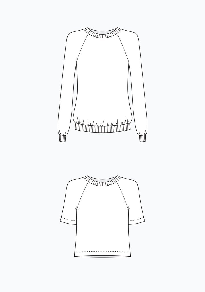 Linden Sweatshirt | Grainline Studio - Stitch 56  - 7