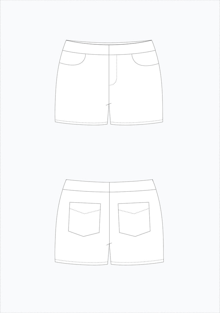 Maritime Shorts | Grainline Studio - Stitch 56  - 4