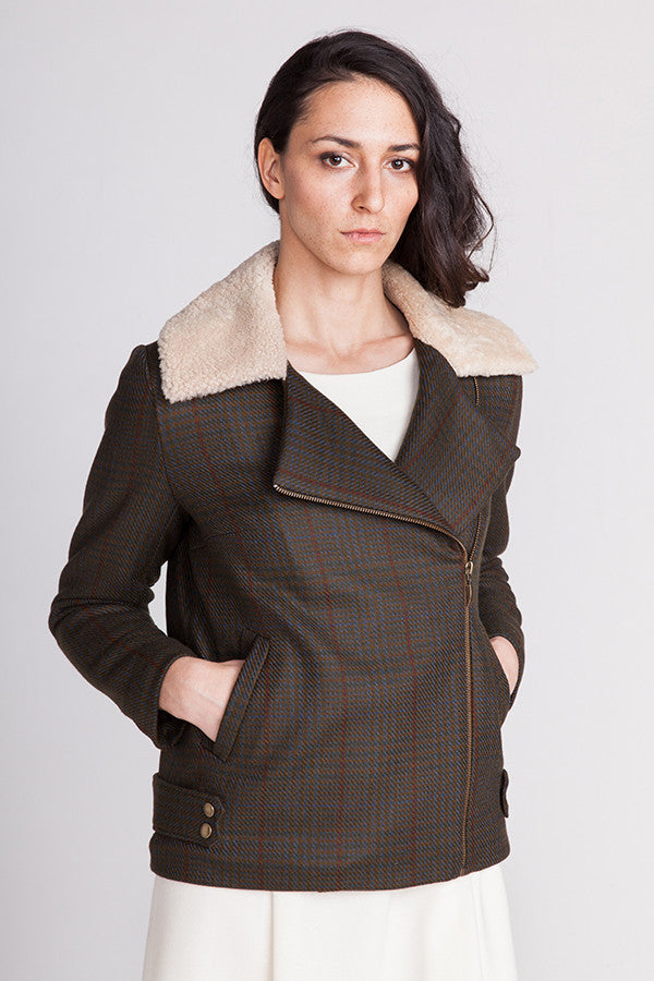 Harriet Lumberjacket sewing pattern | Named - Stitch 56  - 2
