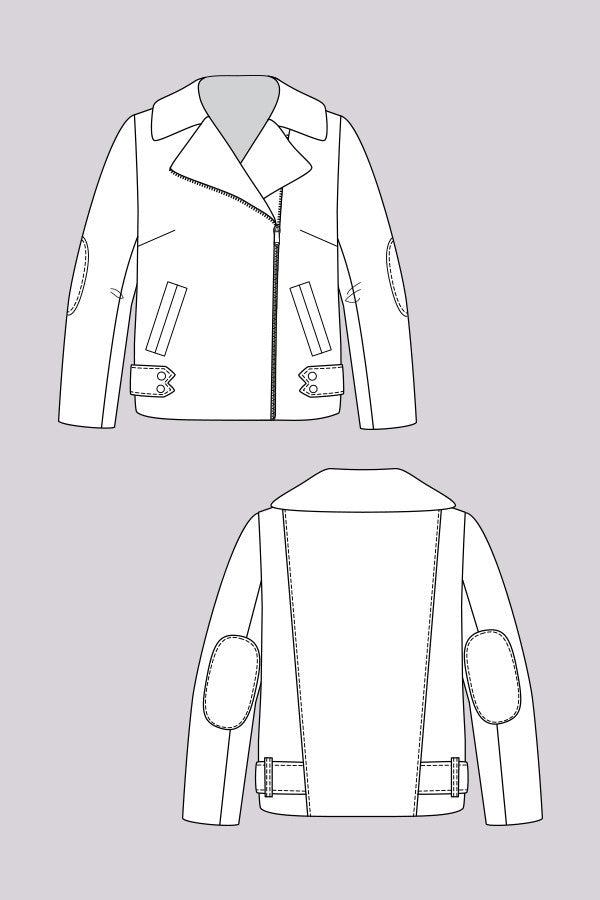 Harriet Lumberjacket sewing pattern | Named - Stitch 56  - 7