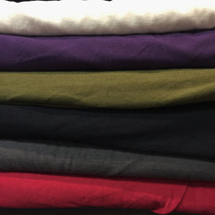 Hemp Organic Cotton Knit | 8 Colours - 1/4m