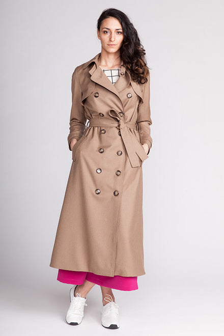 Isla Trenchcoat sewing pattern | Named - Stitch 56  - 1