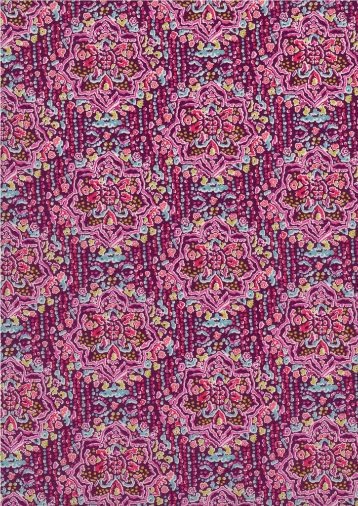 Ruby Templar B | Liberty Art Fabrics - by the 1/4m - Stitch 56  - 2