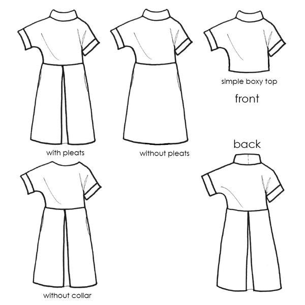 The Fulwood Pull-On Shift Dress (Paper) Sewing Pattern | MiY Collection