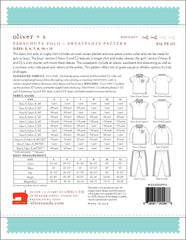 Parachute Polo + Sweatpants Paper Sewing Pattern | oliver+s - Stitch 56  - 14
