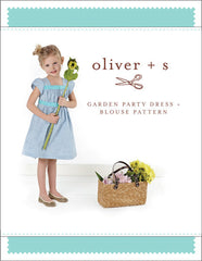 Garden Party Dress + Blouse PAPER Sewing Pattern | oliver+s - Stitch 56  - 1