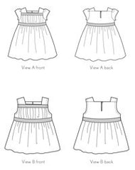 Garden Party Dress + Blouse PAPER Sewing Pattern | oliver+s - Stitch 56  - 11