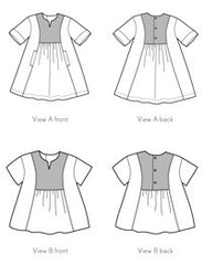Hide-and-Seek Dress + Tunic PAPER Sewing Pattern | oliver+s - Stitch 56  - 13