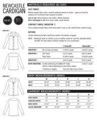 Newcastle Cardigan Paper Sewing Pattern | Thread Theory - Stitch 56  - 4