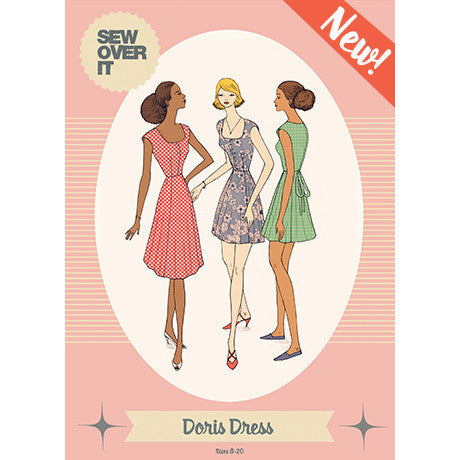 Doris Dress Paper Sewing Pattern | Sew Over It