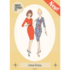 Joan Dress Paper Sewing Pattern | Sew Over It