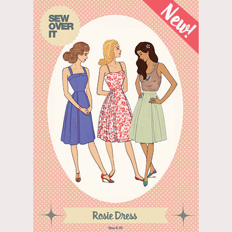 Rosie Dress Paper Sewing Pattern | Sew Over It