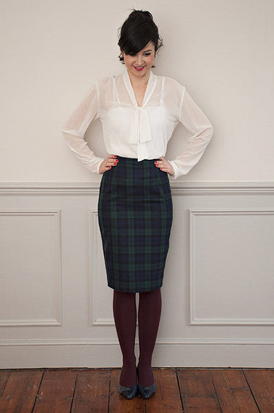 Ultimate Pencil Skirt Paper Sewing Pattern | Sew Over It