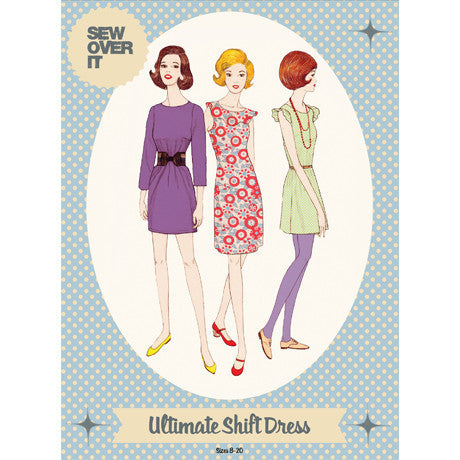 Ultimate Shift Dress Paper Sewing Pattern | Sew Over It