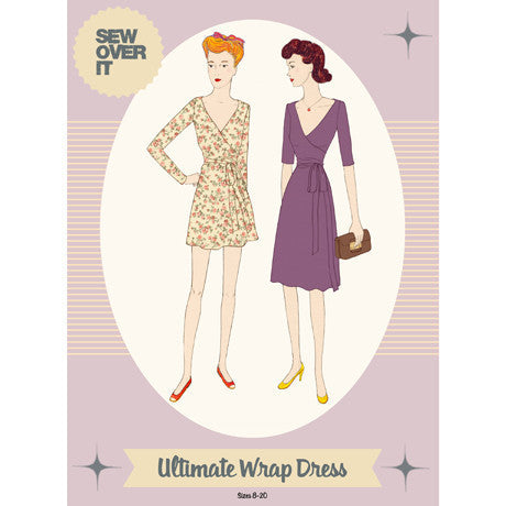 Ultimate Wrap Dress Paper Sewing Pattern | Sew Over It