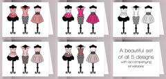 Dress Formally Greeting Cards