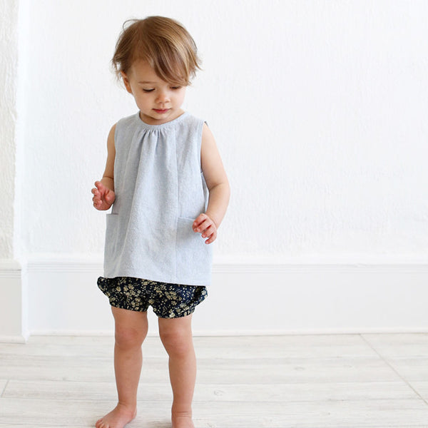 Baby + Toddler Bloomers and Pants (Paper) Sewing Pattern | Wiksten