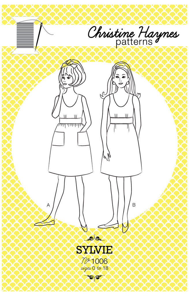Sylvie Dress Sewing Pattern | Christine Haynes - Stitch 56  - 17