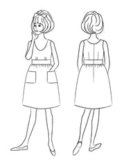 Sylvie Dress Sewing Pattern | Christine Haynes - Stitch 56  - 18