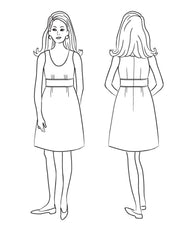 Sylvie Dress Sewing Pattern | Christine Haynes - Stitch 56  - 19