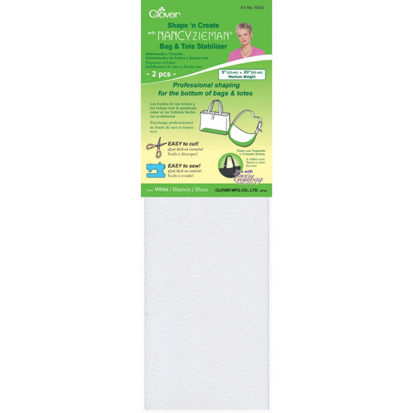 Shape 'n Create Stabilizer - White | Clover - Stitch 56