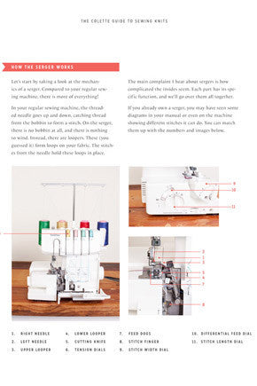 The Colette Guide to Sewing Knits - Stitch 56  - 10