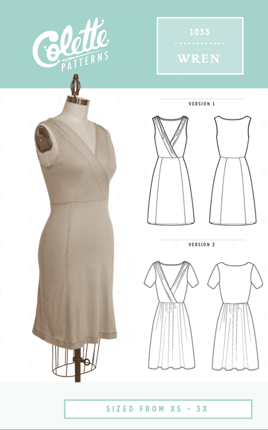 Wren Sewing Pattern | Colette Patterns - Stitch 56  - 9