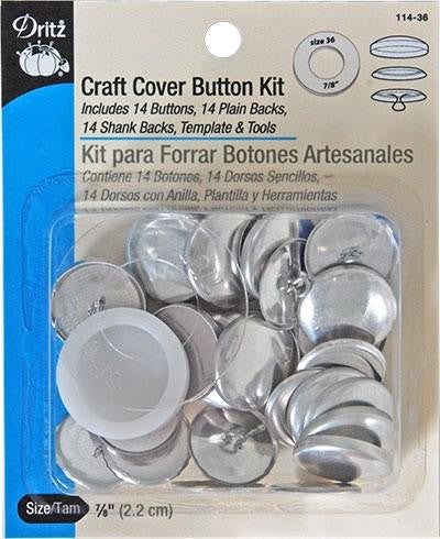 Craft Cover Button Kit 7/8"