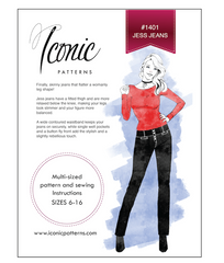 Iconic Patterns | Jesse Jeans #1401 - Stitch 56  - 6