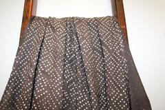 Diamond Dots Brown | Cotton - by the 1/4 metre - Stitch 56  - 1
